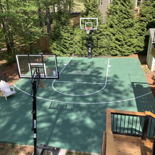 Concrete Slab for Basketball Court